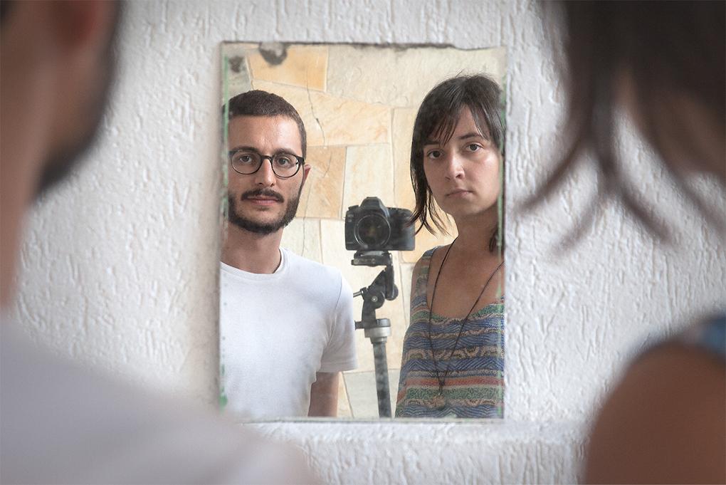 Walter Costa e Sara de Santis